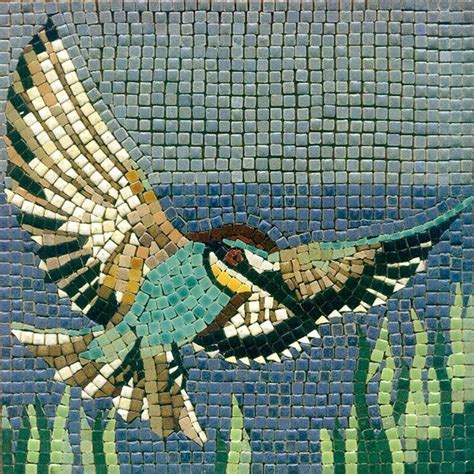 mosaic pattern birds mosaic flying bird mosaik vogel mosaique oiseau