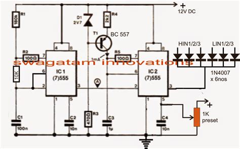 3 phase vfd circuit electronic circuit projects
