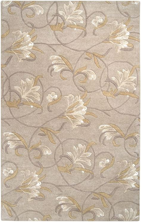 Brown Paisley Rug by Surya Goa Floral And Paisley Area Rug Neutral Brown