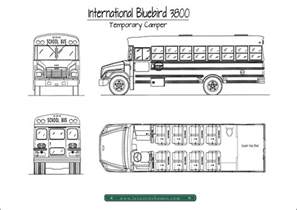 Lake House Blueprints Our First Bus A Temporary Camper
