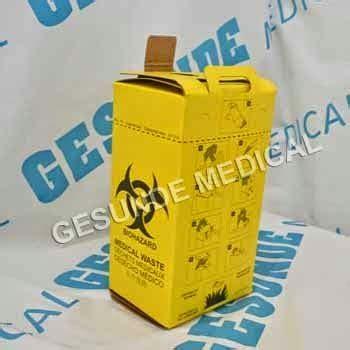 Safety Box Sah Medis Safety Box Rumah Sakit Tempat Limbah Medis Jarum Suntik
