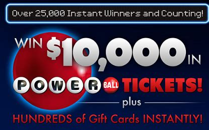 How To Win Instant Win Games - shoutz powerball powercode instant win game