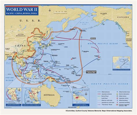 pacific war map ww2 pacific map pictures to pin on pinsdaddy