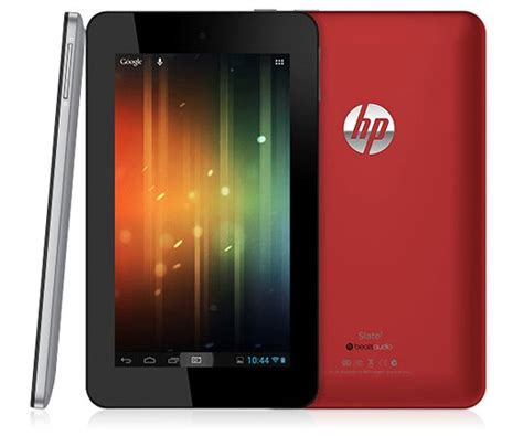 hp android tablet hp slate 7 android tablet rocks beats 169 price tag due out in april