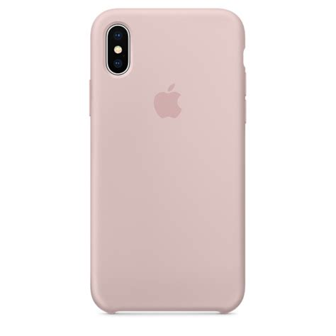 iphone x silicone iphone x silicone pink sand apple