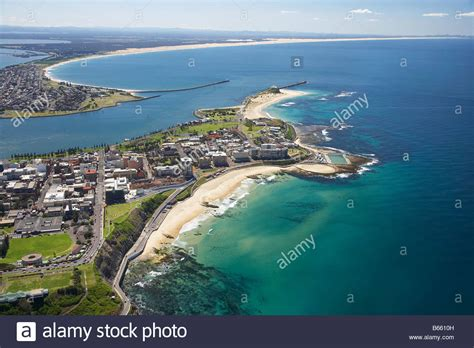 sw boat australia newcastle beach and newcastle harbour newcastle new south