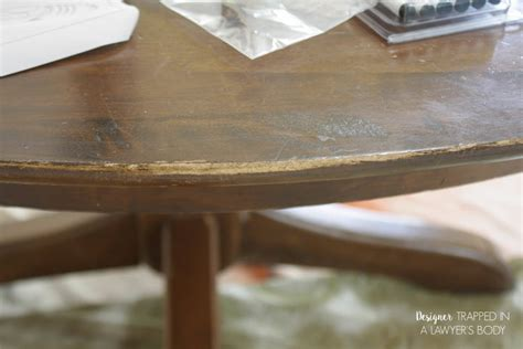 how to refinish a table how to refinish a table without sanding stripping