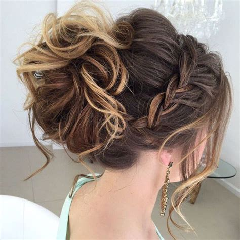 curly hairstyles updos braids best 25 updos with braids ideas on pinterest bridesmaid