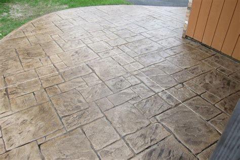 pattern imprinted concrete ideas sted concrete patterns