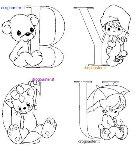 disegnare con le lettere lettere dell alfabeto da colorare az colorare