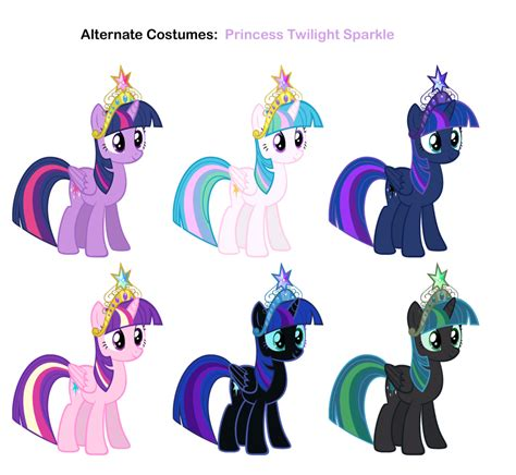Mlp Fashion Pony Princess Twilight Sparkle fim skins princess twilight sparkle by pika robo