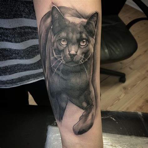 black cat tattoos 65 mysterious black cat ideas are they or evil