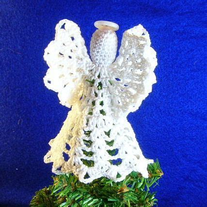 patterns for christmas tree toppers mini tree top angel free crochet pattern free crochet