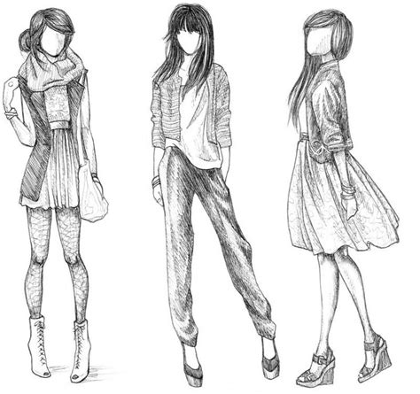 doodle draw style 42 best images about how 2 draw fashion on