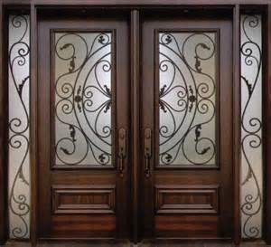 decorative wrought iron front doors inserts toronto
