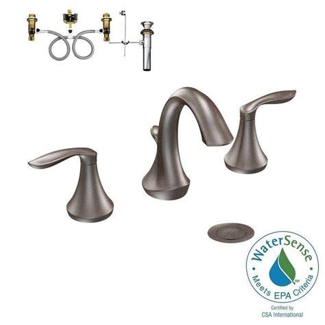Moen Wynford 8 In Widespread Moen Rubbed Bronze Widespread Faucet Rubbed