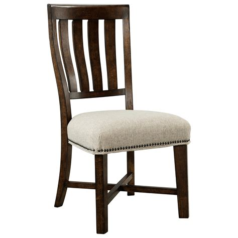 V Schultz Furniture by Broyhill Furniture Pieceworks Side Chair With Upholstered