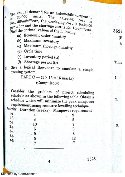 Quantitative Techniques Notes For Mba by Quantitative Techniques Question Paper Mba Apl 13