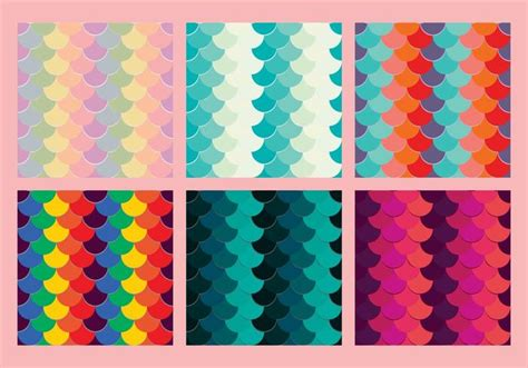 vector watercolor fish patterns download free vector art free fish scales vector pattern 5 download free vector