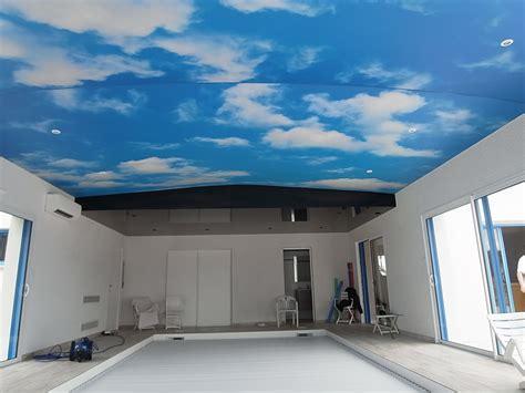 Toile Pour Plafond Tendu by Toile Tendue Translucide Et Imprim 233 E Peinture Frehel