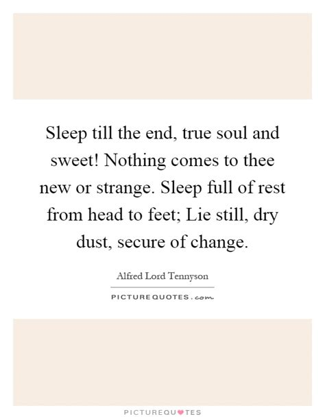 Nothing Comes To A Sleeper But A by Sleep Till The End True Soul And Sweet Nothing Comes To