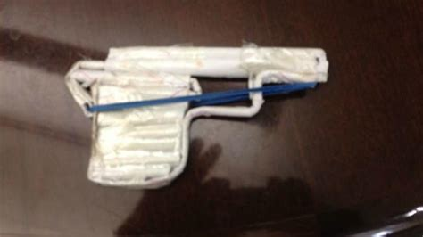 How To Make A Paper Wars Gun - lockdown paper gun illustrates zero tolerance