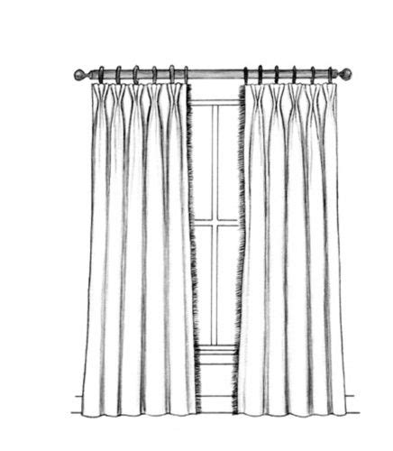 butterfly pleat curtains butterfly pleated draperies an updated softer variation