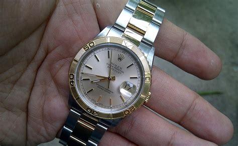 Jam Tangan Rolex Os005 jam tangan second sold rolex thunderbird 16263 ss 18k