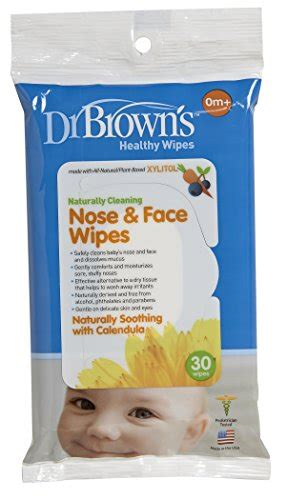 dr brown s nose and wipes 30 count