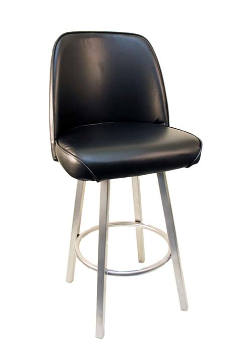 gladiator commercial grade square backless bar stool gladiator 525 black commercial bucket seat bar stool on