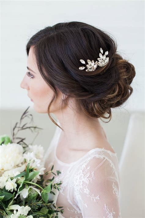 Wedding Hair Accessories Uk Combs by Silver Wedding Hair Accessories Hair Combs Gold