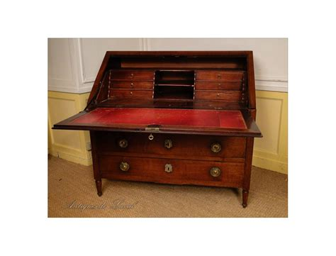 office scriban solid mahogany furniture port eighteenth