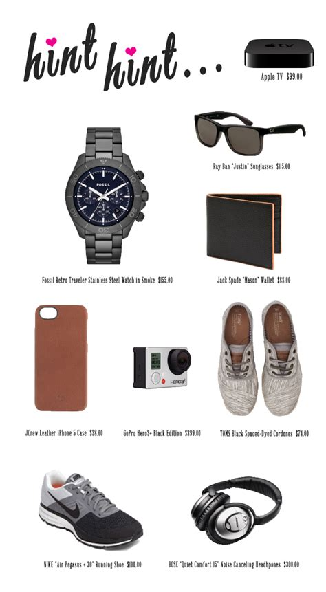Gift Guide Valentine S Day Gifts For Him Lauren Conrad | valentine s day gift guide for him modish main