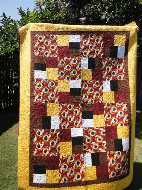 Sports Quilt by Pin By Gayle Millet On College Nfl Quilts