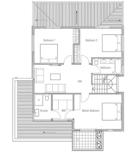 affordable home plans affordable modern house plan ch111