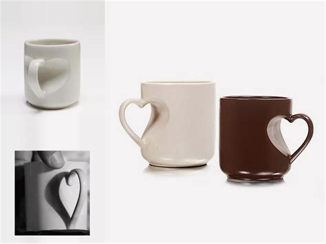 heart shaped mug heart shaped mug iris zohar product design