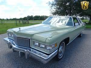 1975 Cadillac Sedan 1975 Cadillac Coupe Gateway Classic Cars 689