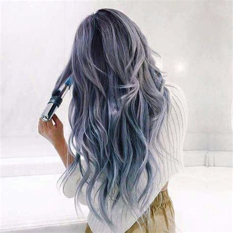 beautiful hair color gray blue purple hair awesome hair color dyes