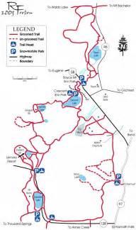 crescent lake oregon map see do klamath county