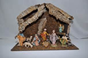 vintage collectible 5 12 piece nativity set fontanini
