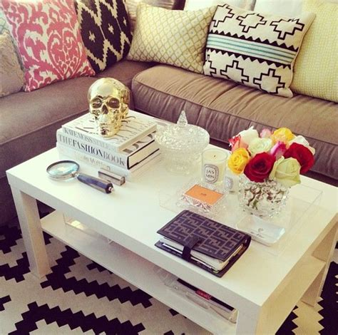 coffee table styling chic ways to style your coffee table united states of chic