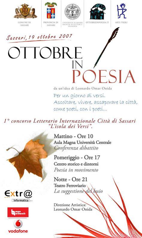 festival ottobre in poesia 2007