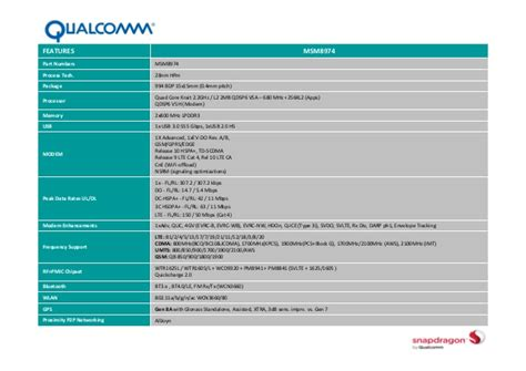 snapdragon 800 mobile qualcomm snapdragon 800 mobile device