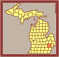 What County Is Pontiac Mi In Mccoy Family Census 1930 Michigan