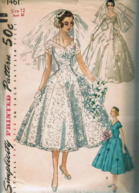 pattern review simplicity 1461 simplicity 1461 vintage sewing patterns fandom powered