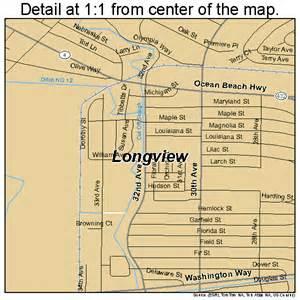 longview washington map 5340245