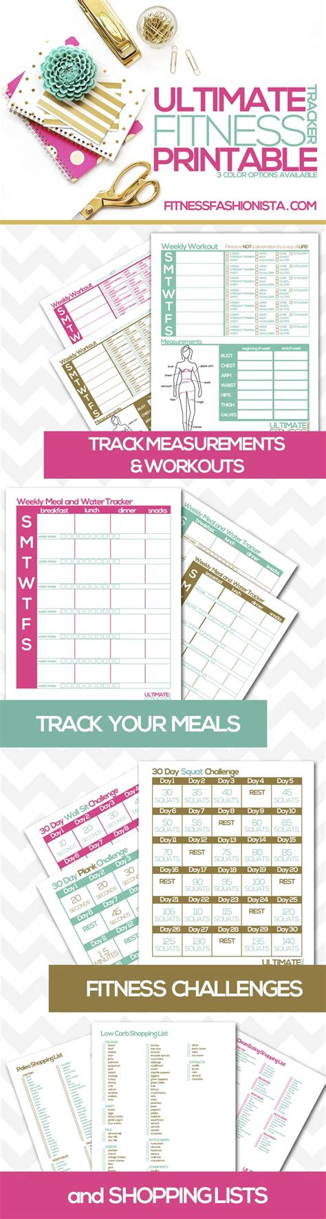 printable workout planner best 25 workout planner ideas on pinterest fitness