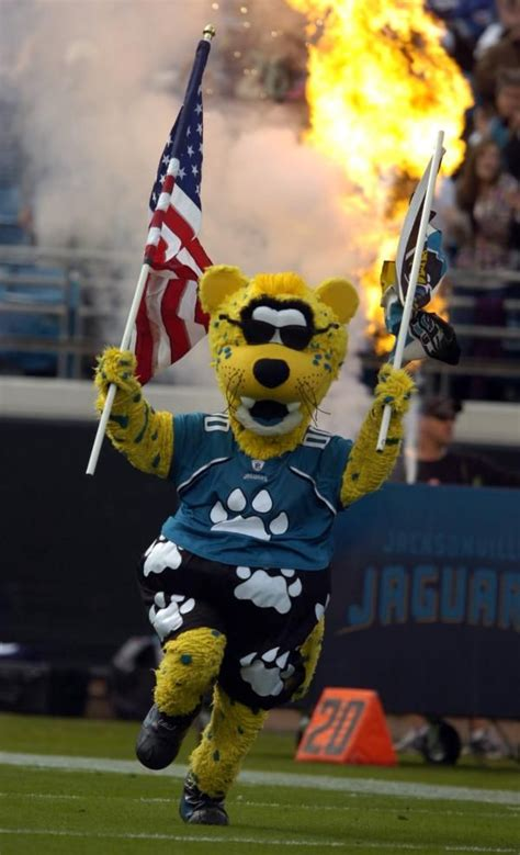 jacksonville jaguars mascot pin by lara springstead on football