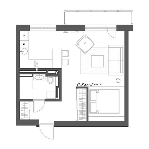 wohnung 60 m2 grundriss grundriss der 1 zimmer wohnung pinteres