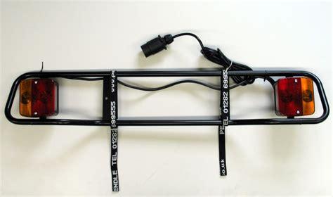 Tow Bar Rack tubular lighting unit for tow bar rack